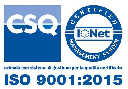 Certificazione ISO9001:2015 Tecnostile
